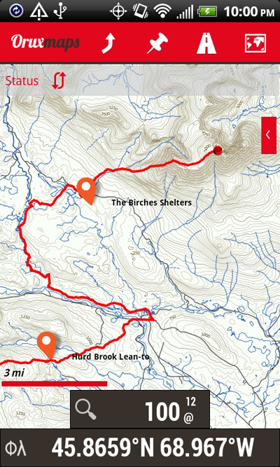 Offline Appalachian Trail Topo Maps For Android | Steve Or Steven Read