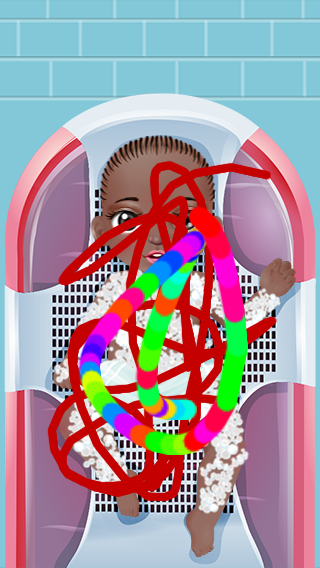 Baby Care App Drawing