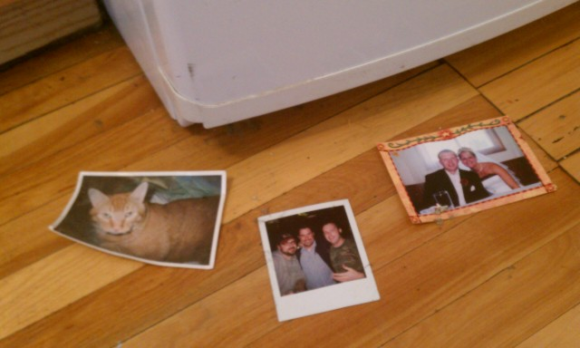 3 photos found today behind the fridge