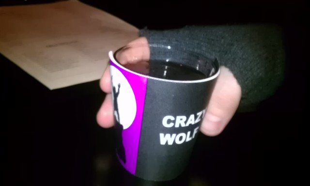 crazy wolf (beverage wrapper)