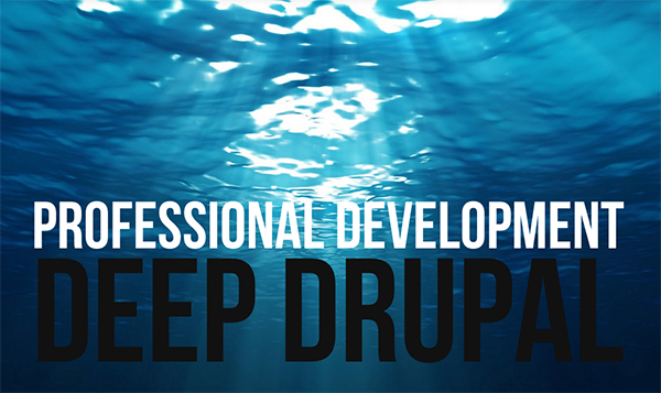 DEEP DRUPAL .. just launched my web development portfolio site!