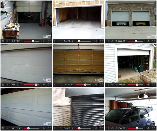 and today i saw an infinitely looping array of garage door activity