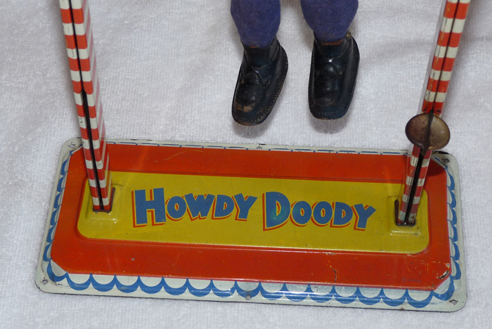 some weird mechanical howdy doody toy i picked up
