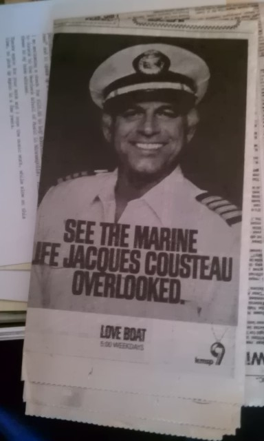 SEE THE MARINE LIFE JACQUES COUSTEAU OVERLOOKED.