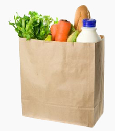 the perfect grocery bag