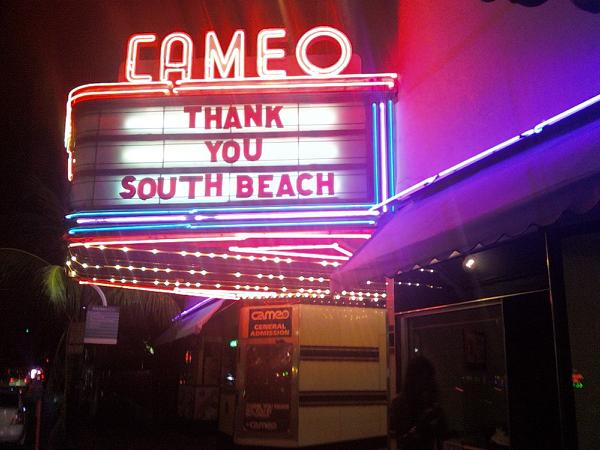 cameo theater miami south beach