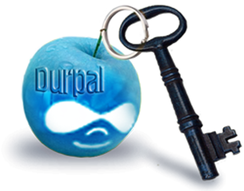the key to drupal