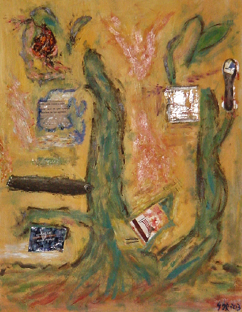 schoolyard_assemblage painting