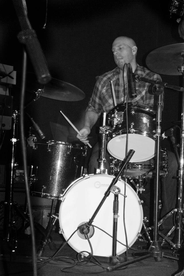 Steven Read on the Drums